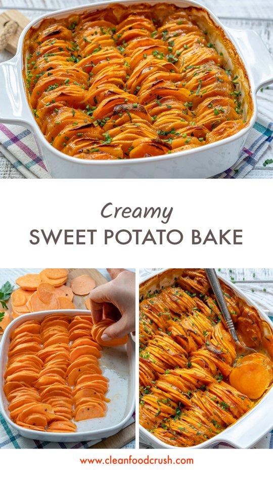 Clean Eating Sweet Yam Bake Recipe
