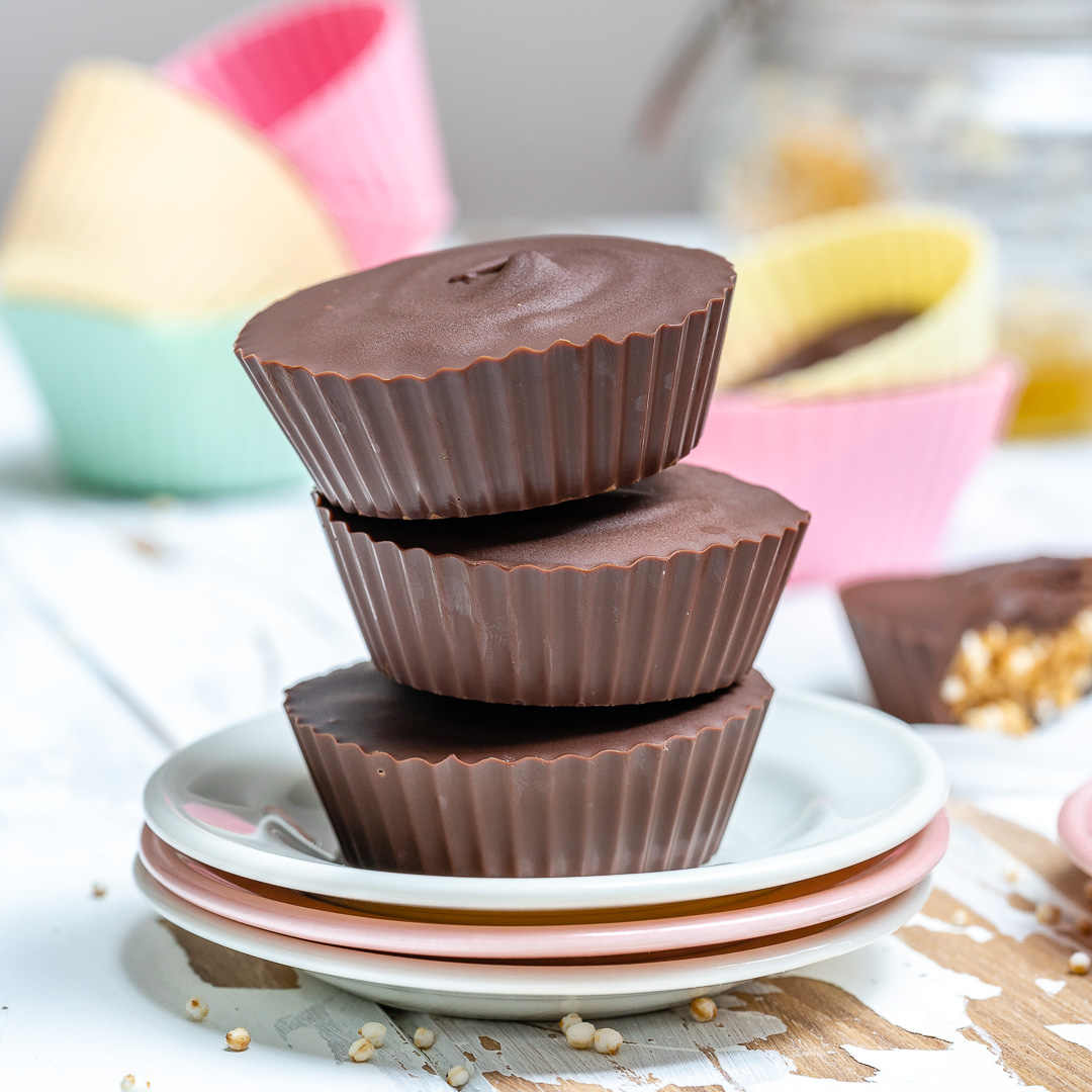 Clean Eats Chocolate Peanut Butter Cups
