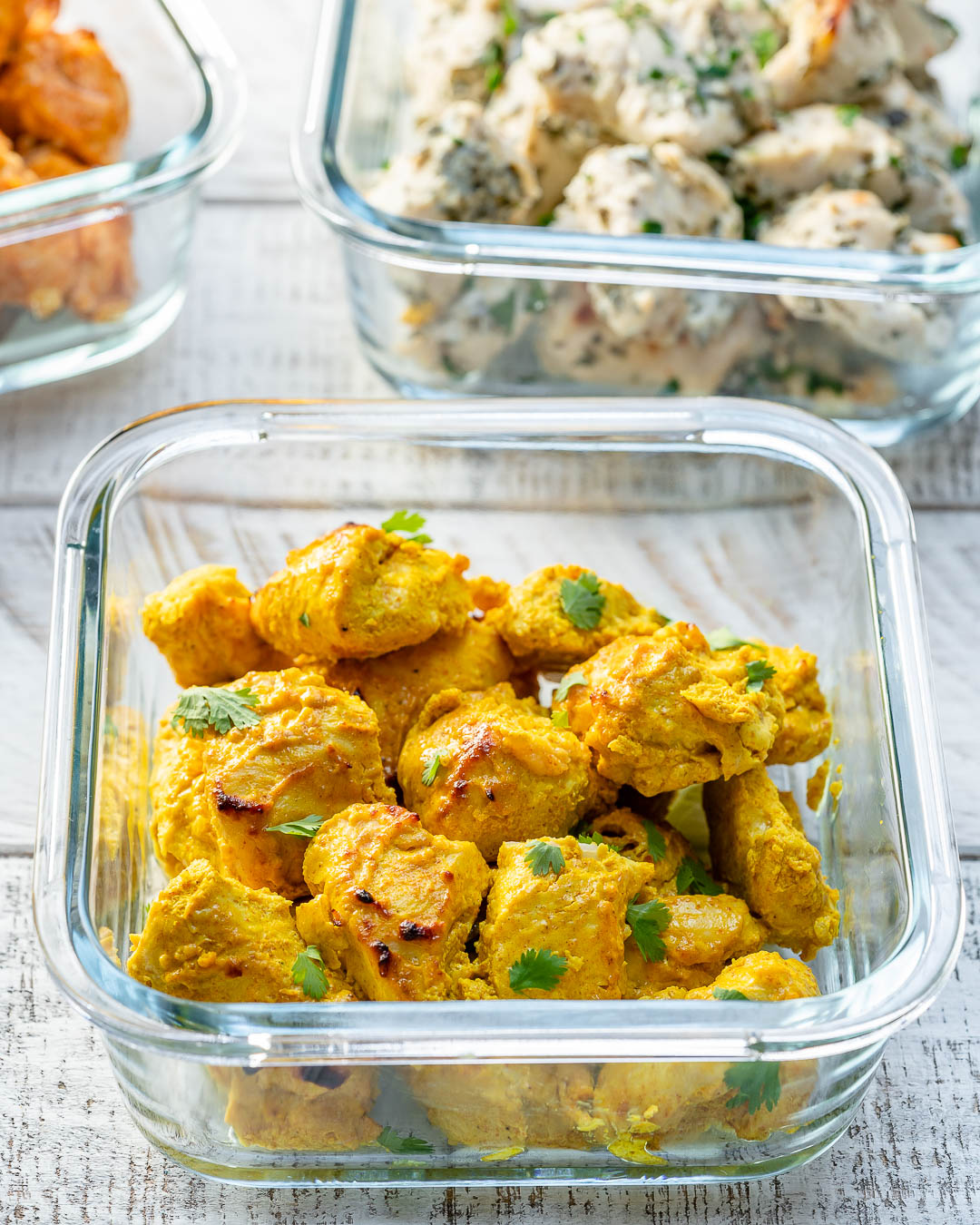 Clean Eats Curried Chicken Pieces