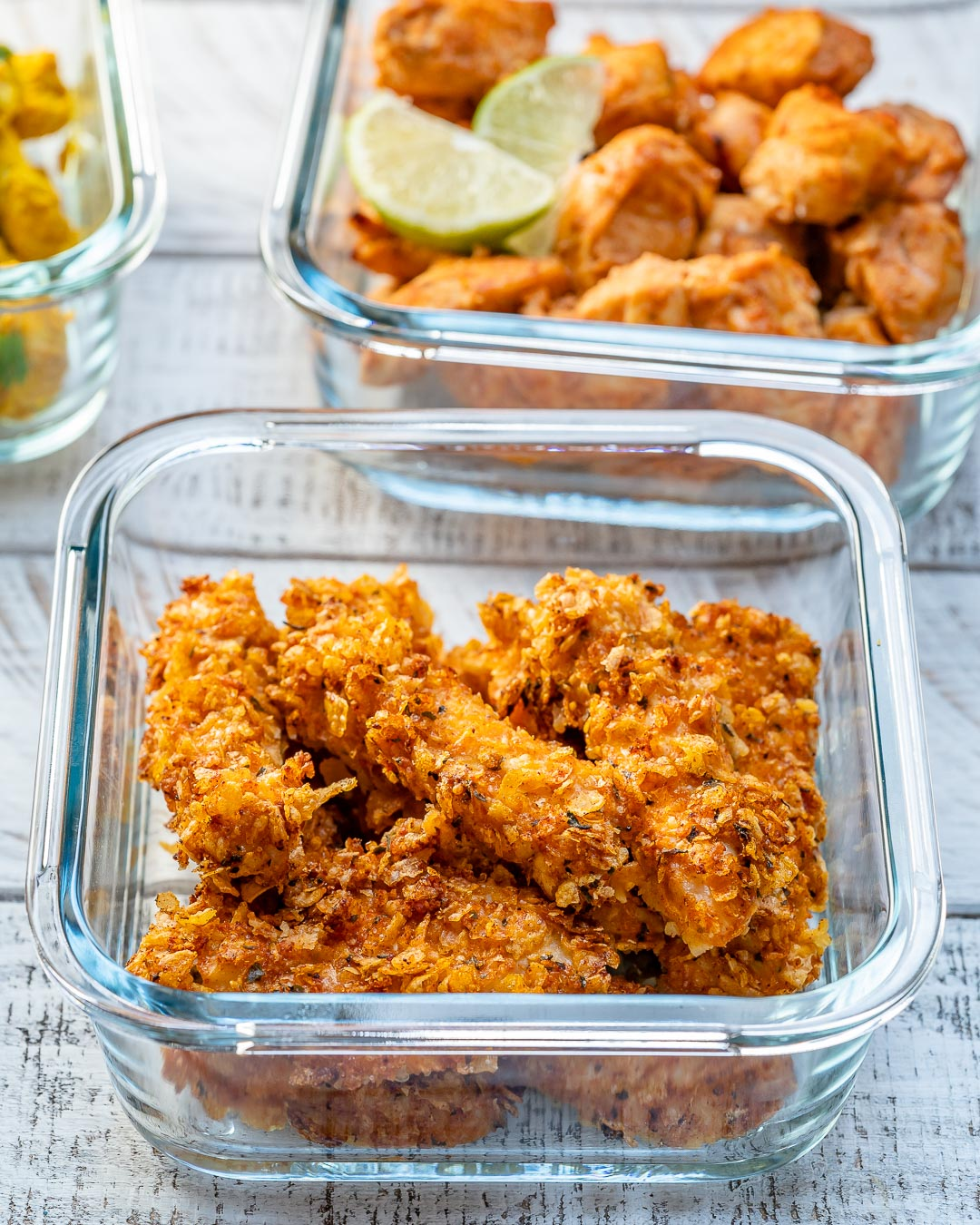 CleanFoodCrush Healthy Chicken Fingers