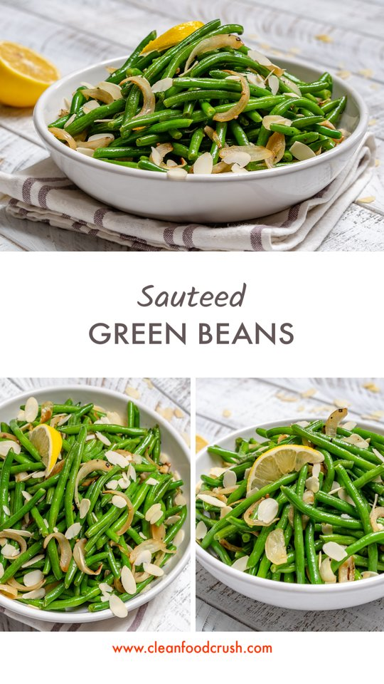 Healthy Lemony Sautéed Green Beans
