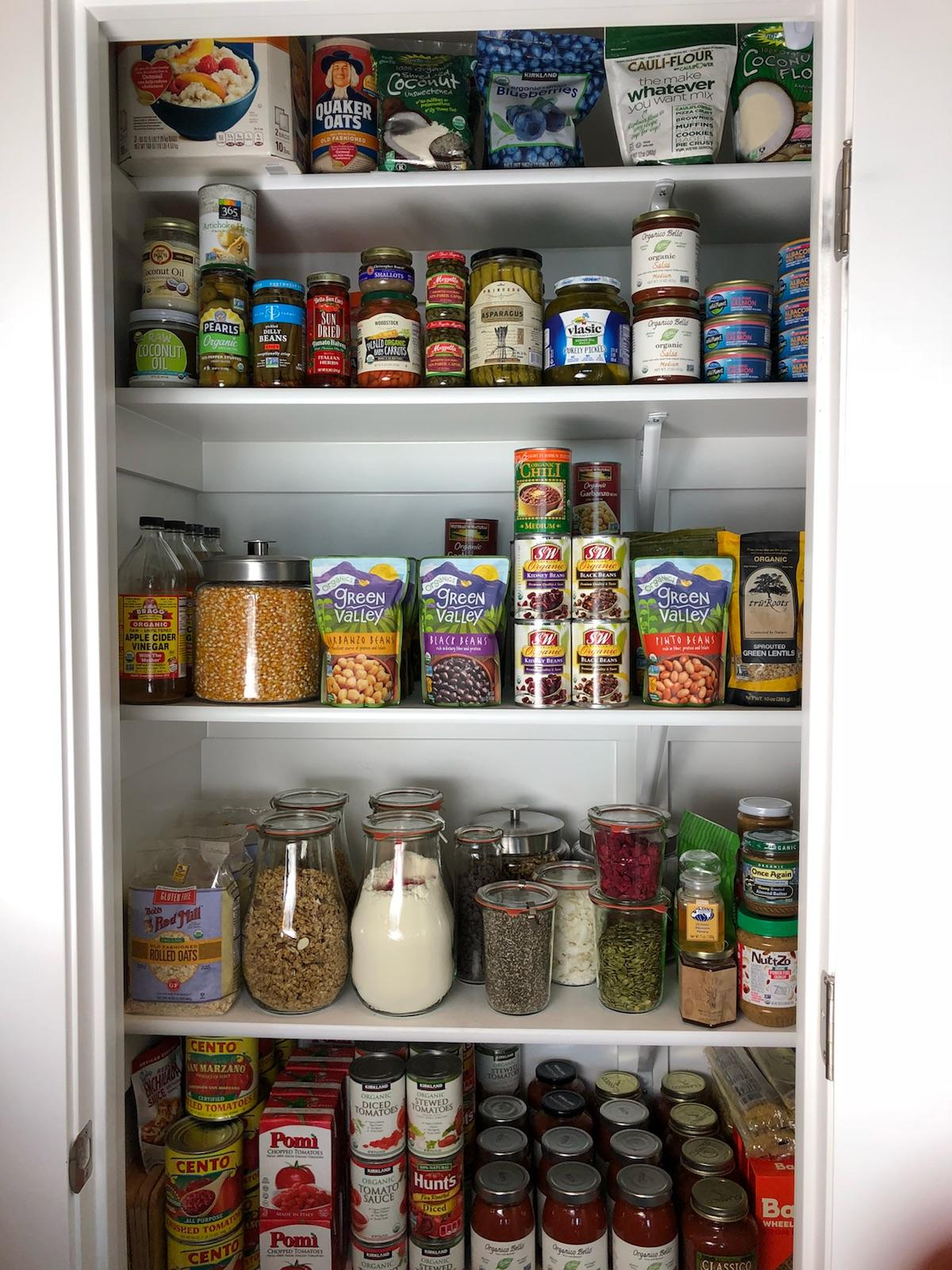CleanFoodCrush Pantry Items