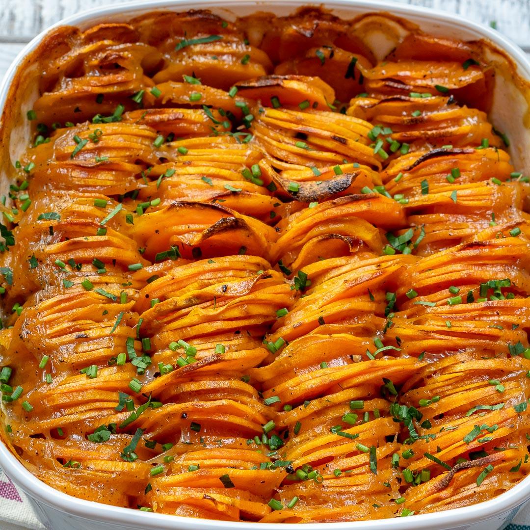 Creamy Sweet Potato Bake Side Dish