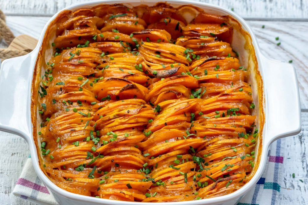 Creamy Sweet Potato Bake for Clean Eating