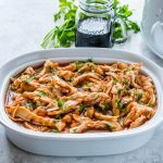 Crock Pot 3-Ingredient Pulled Chicken by CFC