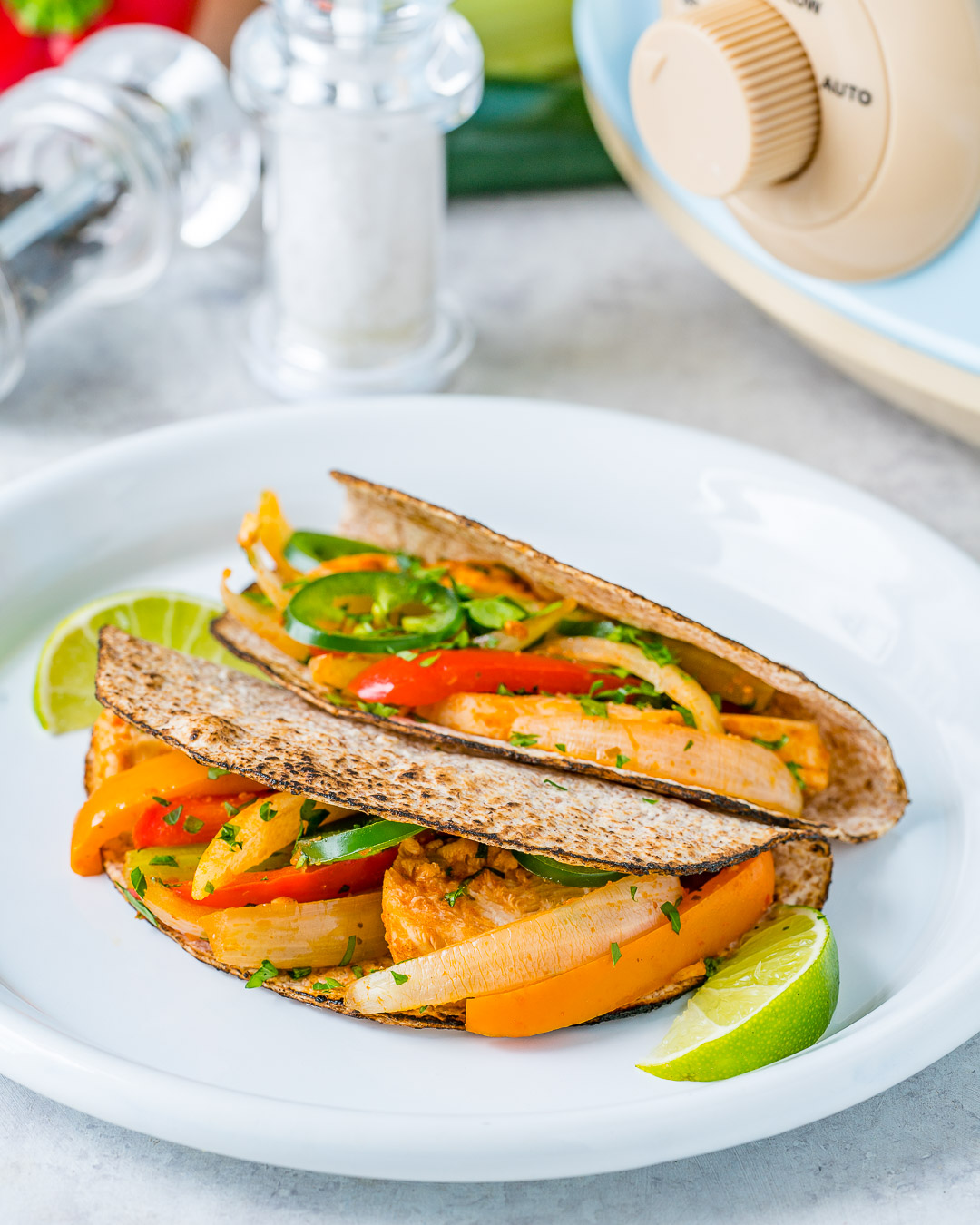 Rachel Masers Crock-Pot Chicken Fajitas Recipe