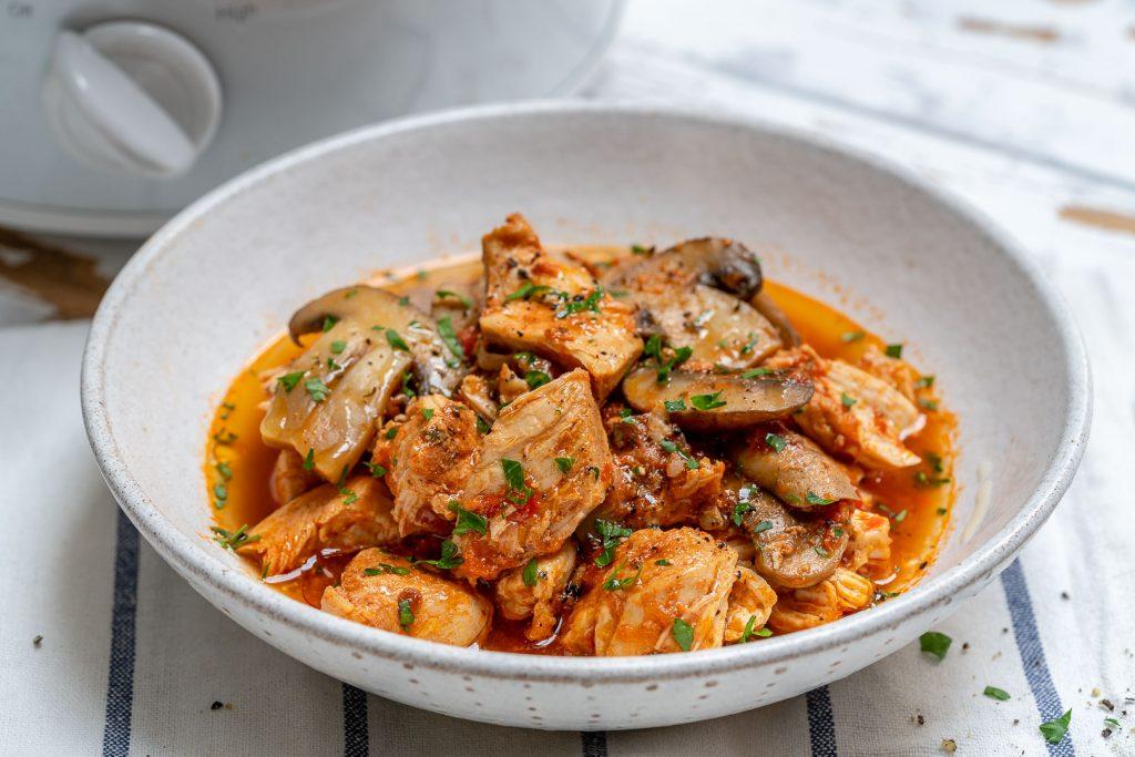 Crockpot Chicken with Mushrooms Recipe