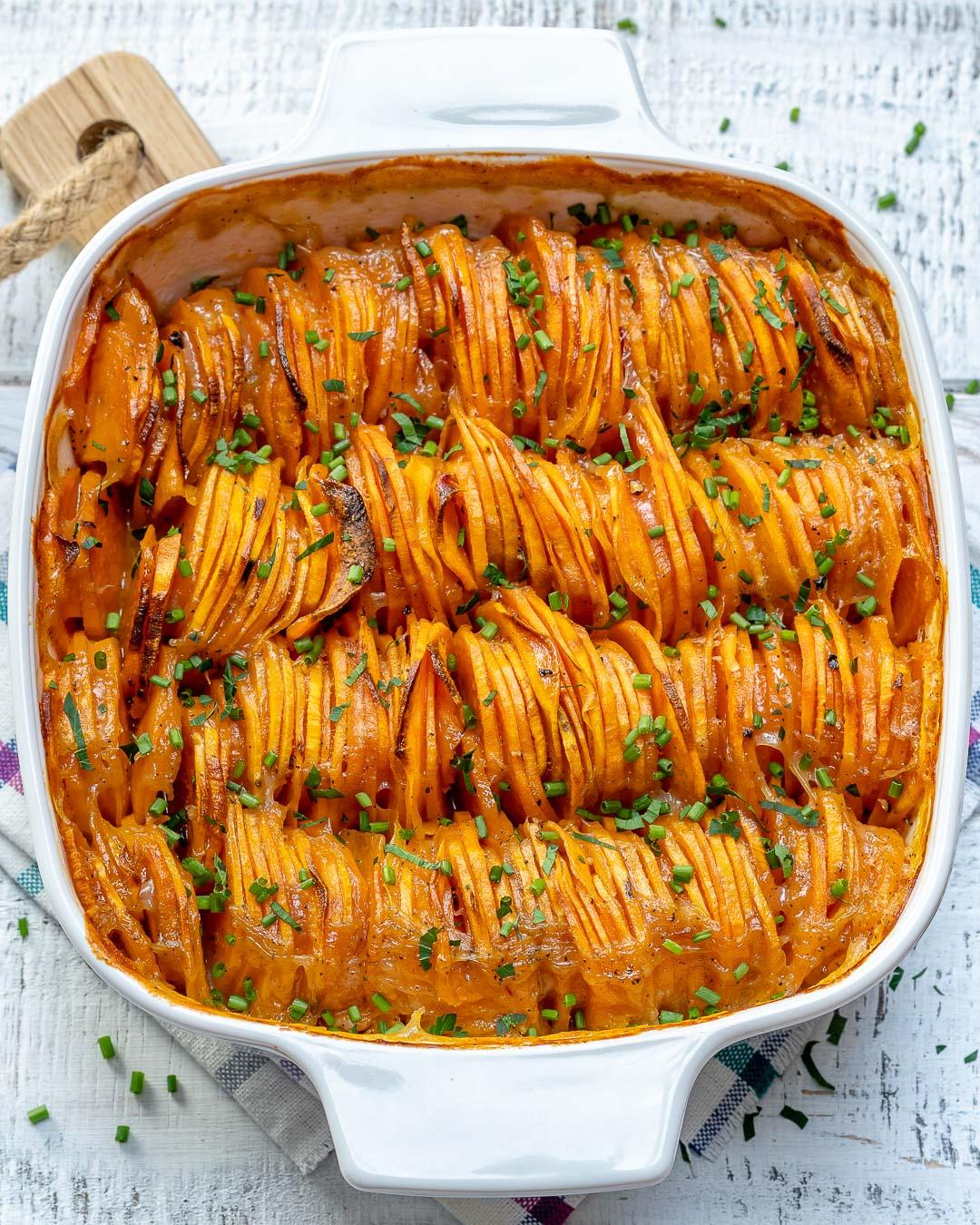 Eat Clean Creamy Sweet Potato Recipe