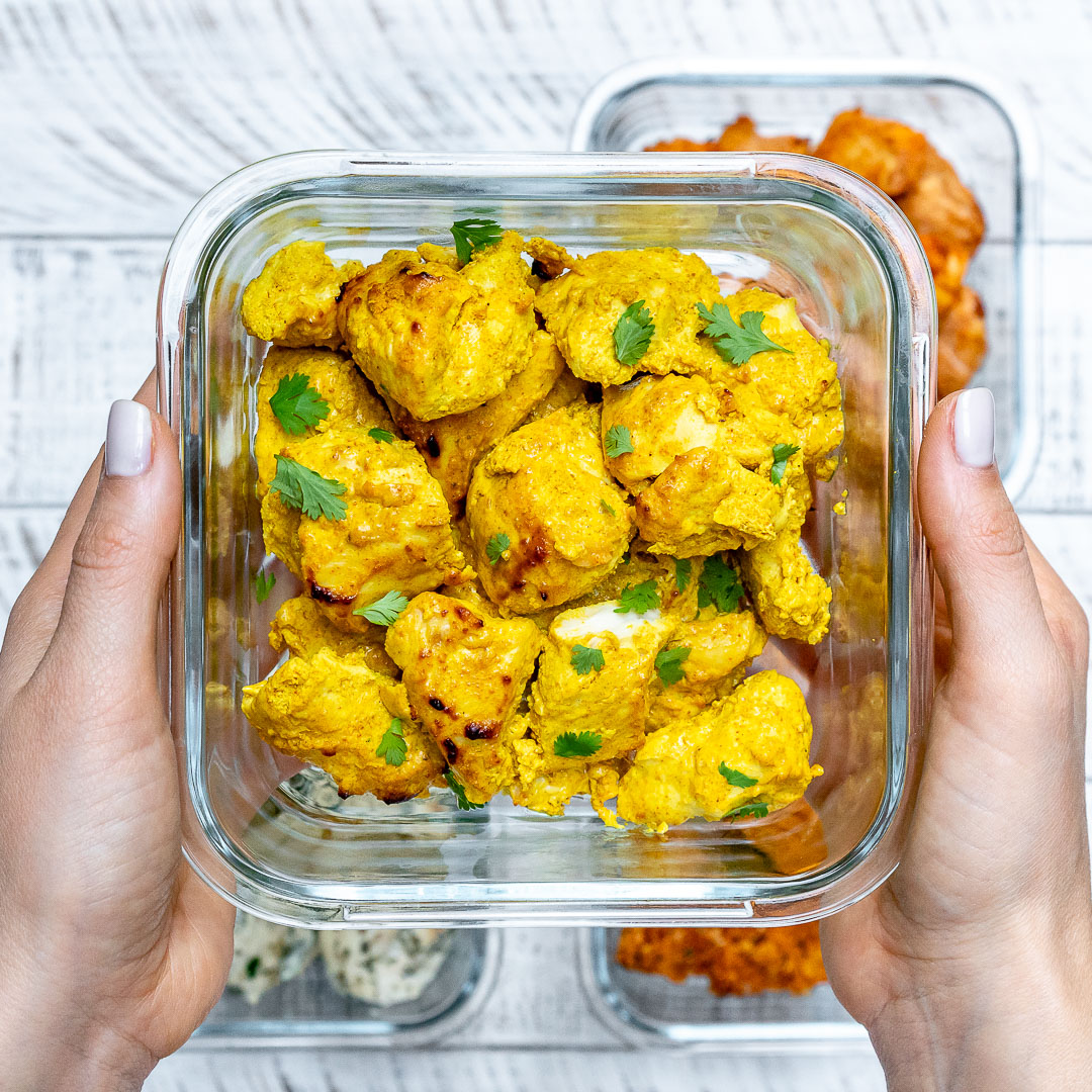 Eat Clean Curried Chicken Pieces