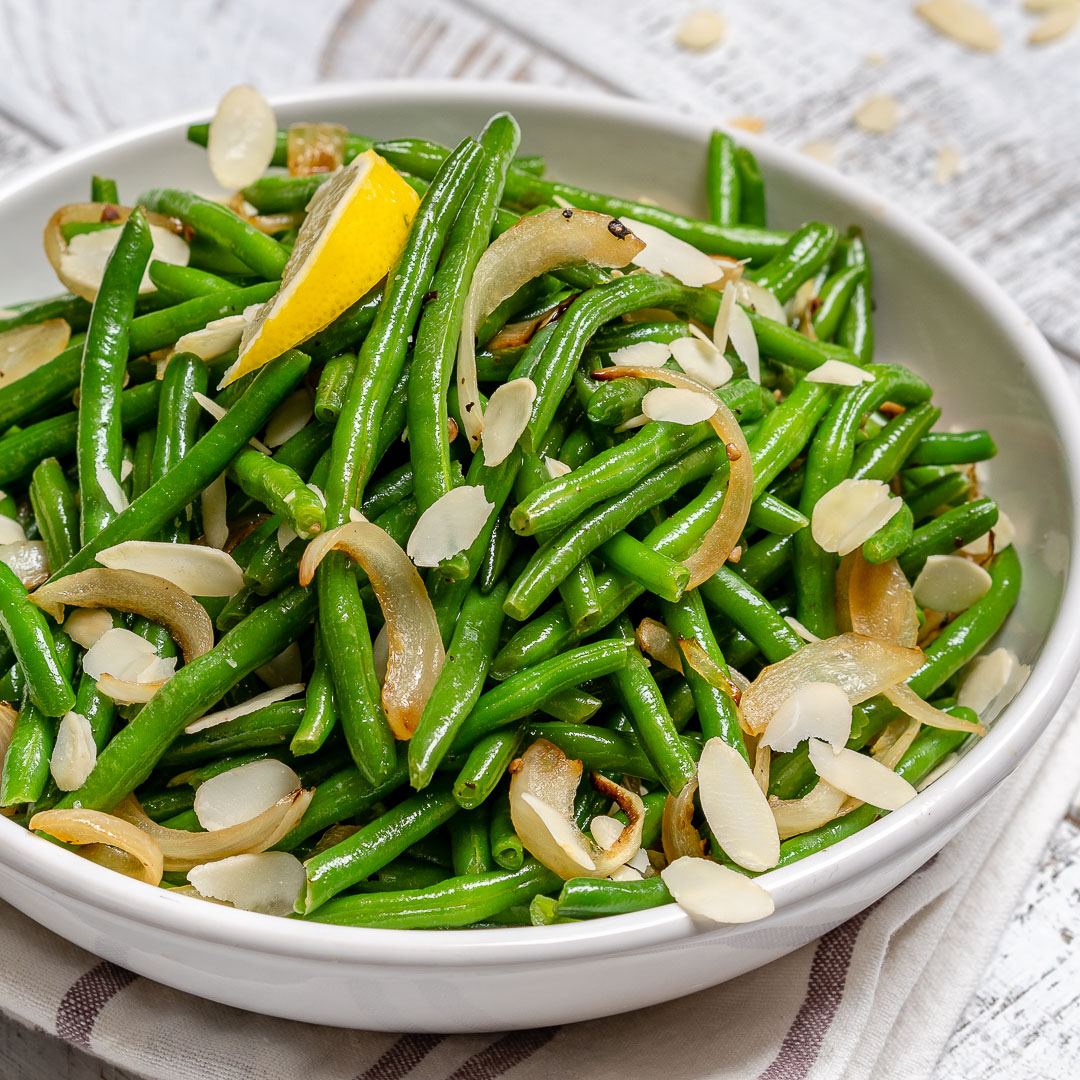 Eat Clean Lemony Sauteed Green Beans