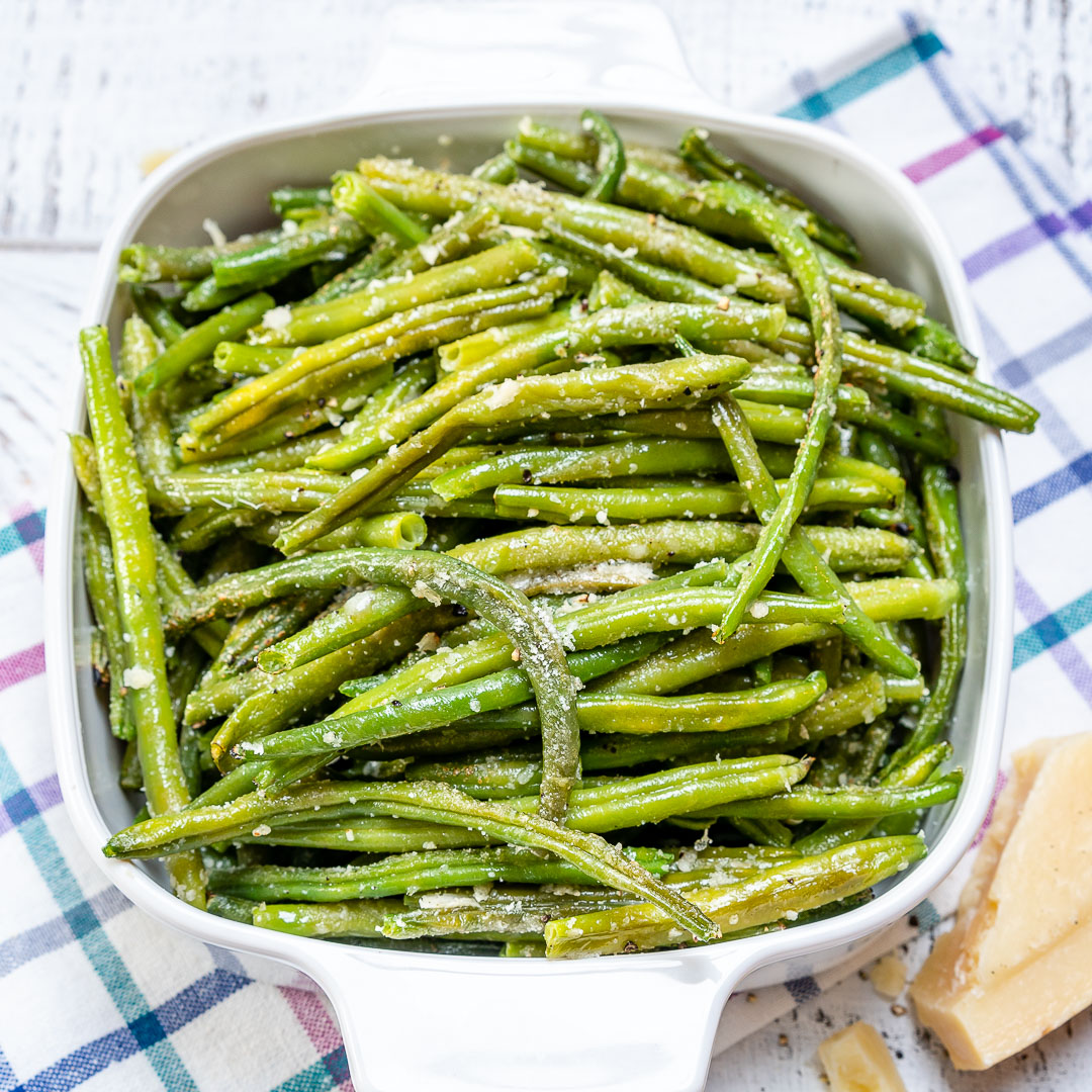 Roasted Green Beans Food Prep