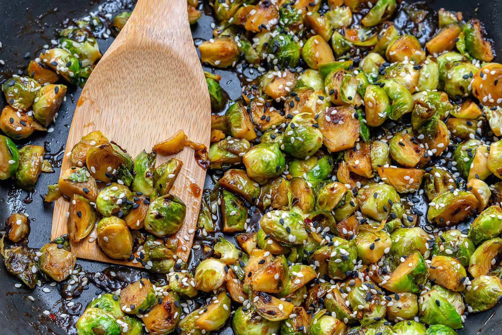 Eat Clean Fried Brussels Sprout Ingredientss