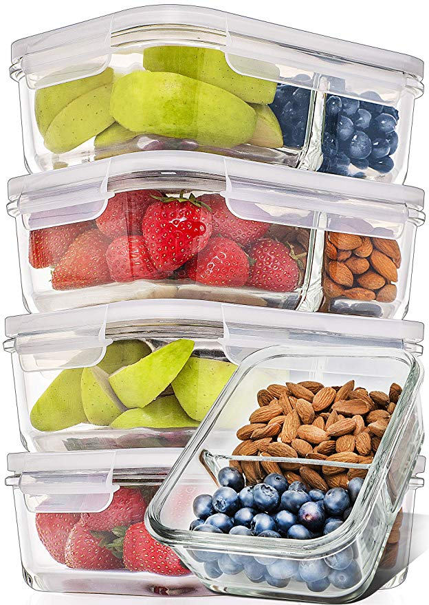 Glass Meal Prep Containers
