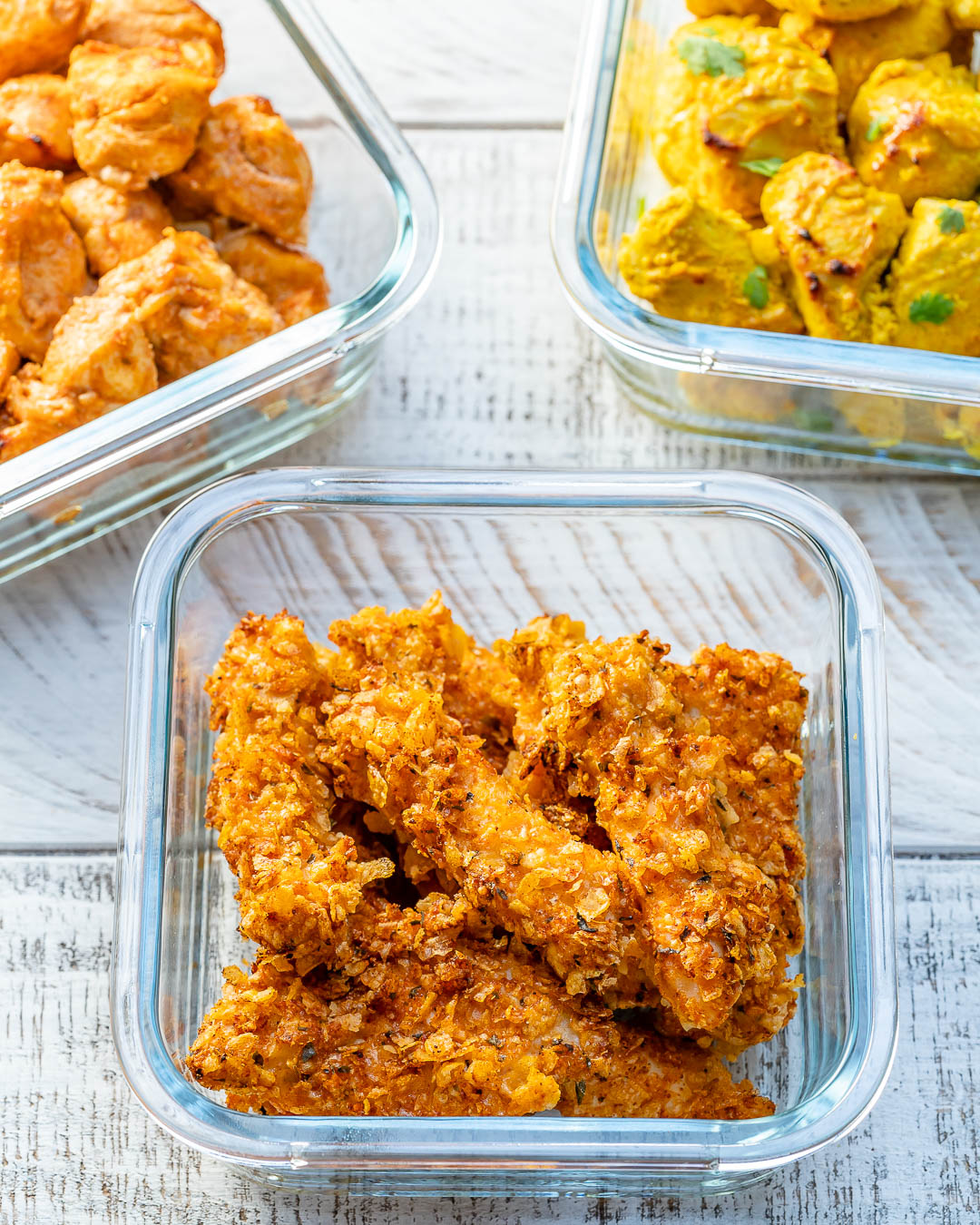 Healthy Chicken Fingers by Rachel Maser