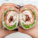 Healthy Leftover Tangy Turkey Ranch Club Wraps