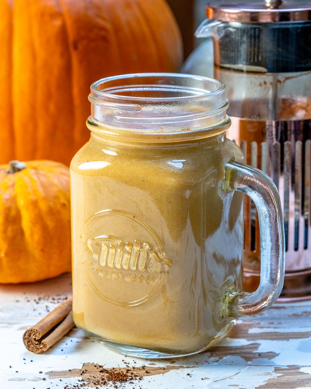 Rachel Masers Healthy Pumpkin Spice Latte