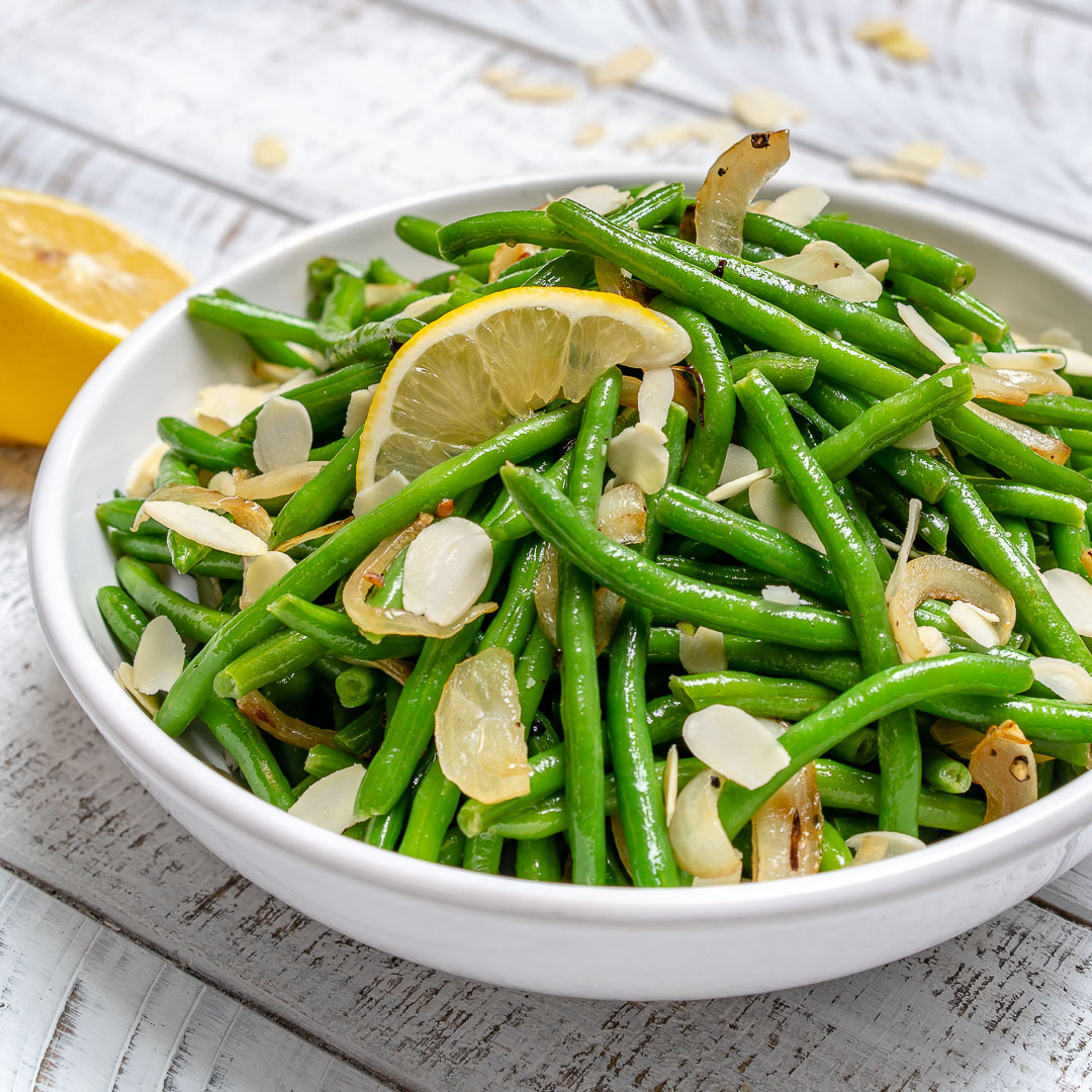 Lemony Sautéed Green Beans CleanFoodCrush Recipe