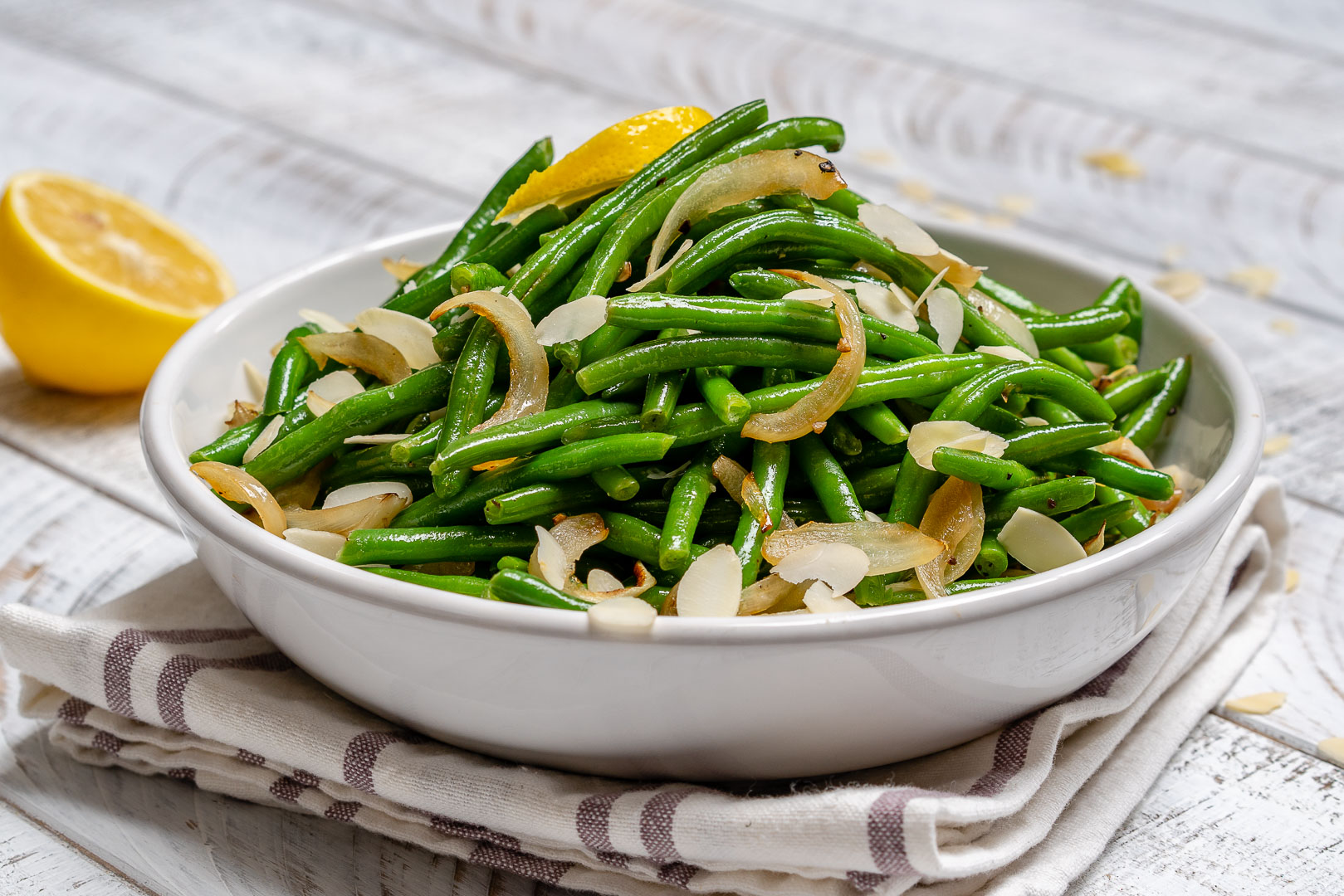 Lemony Sauteed Green Beans Ingredients