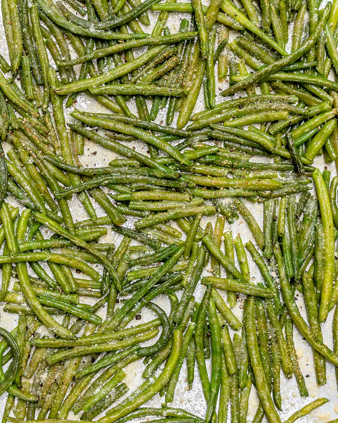 Easy Parmesan Green Beans Recipe
