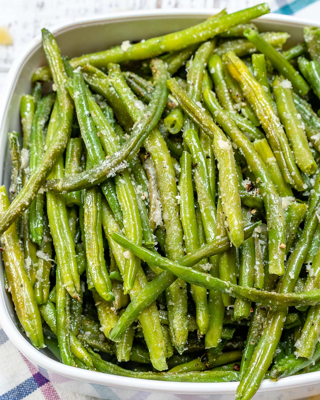 Parmesan Roasted Green Beans by Rachel