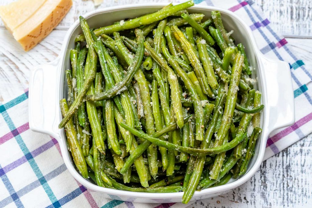 Parmesan Roasted Green Beans for Side Dish