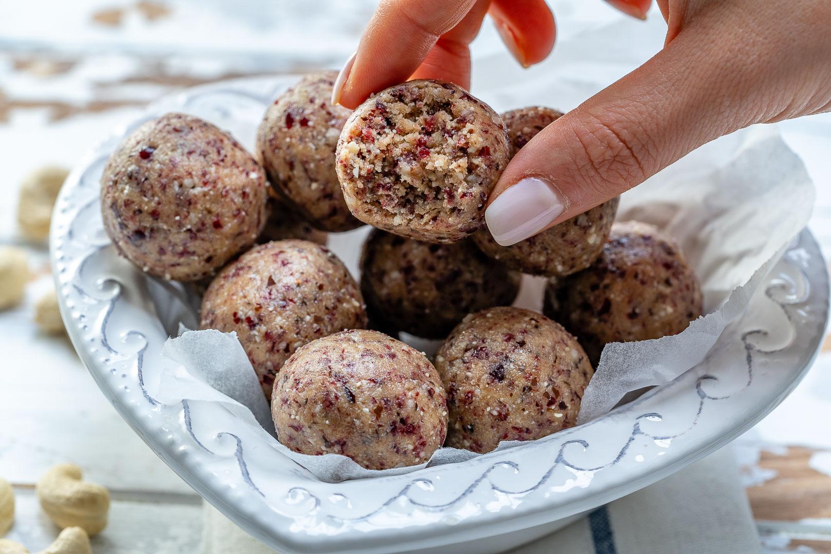 Rachel Masers Protein Balls