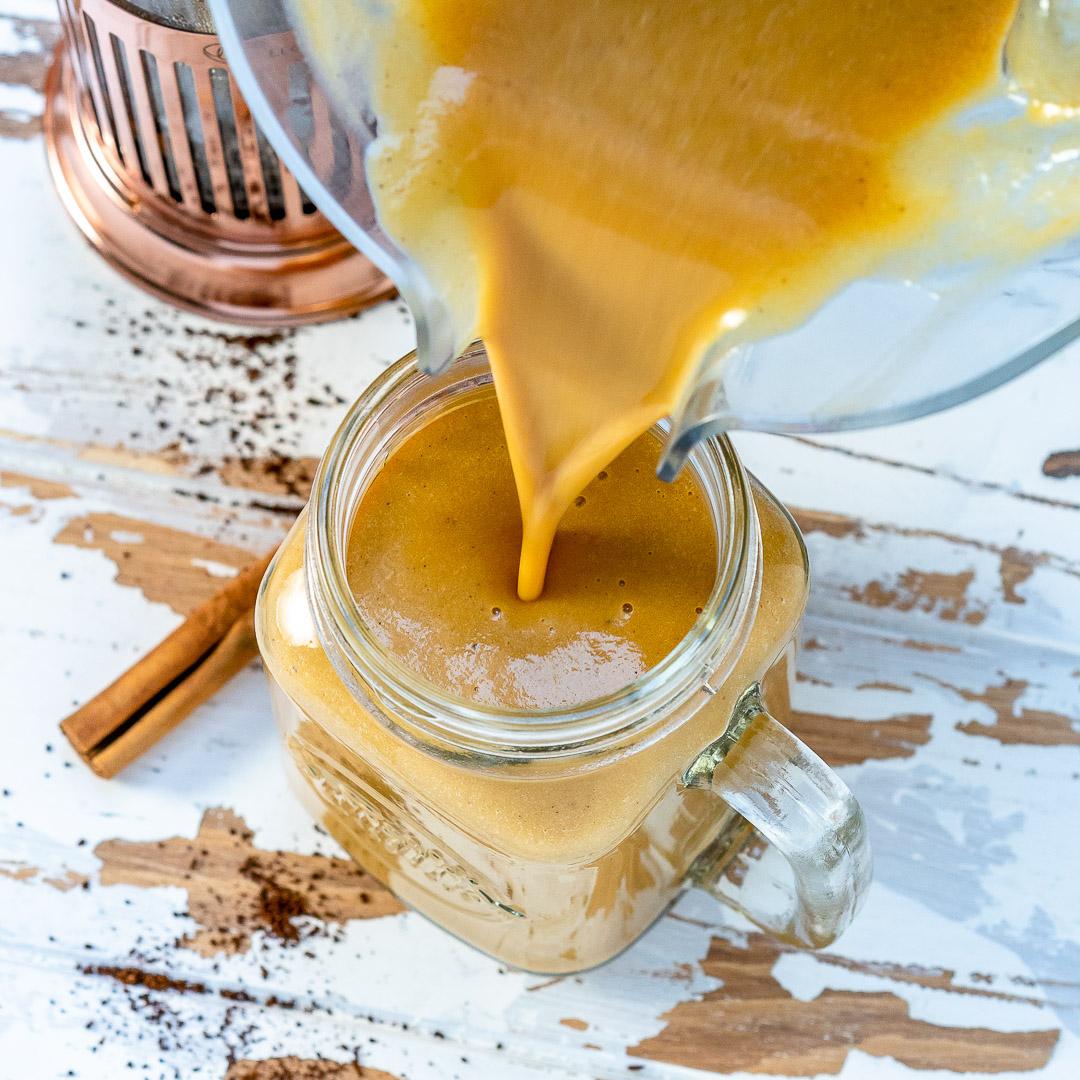 CleanFoodCrush Pumpkin Spice Latte