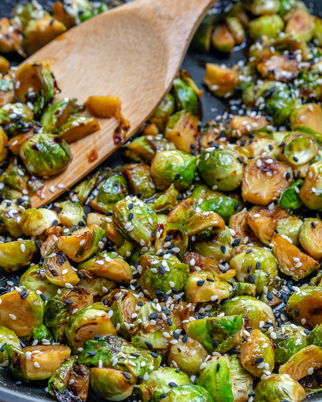 CleanFoodCrush Stir fried Brussels