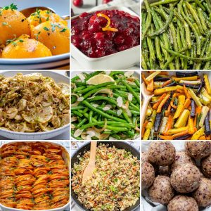 Thanksgiving Side Dishes by CleanFoodCrush