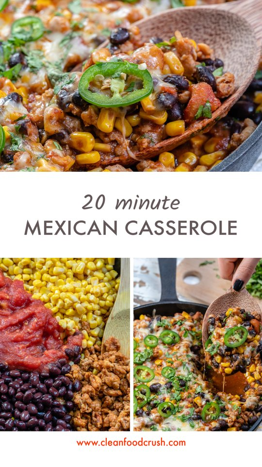 CleanFoodCrush Mexican-Style Casserole