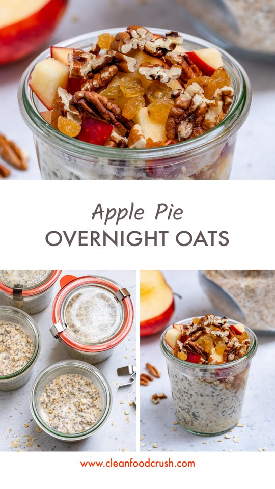 Apple Pie Oats Ingredients