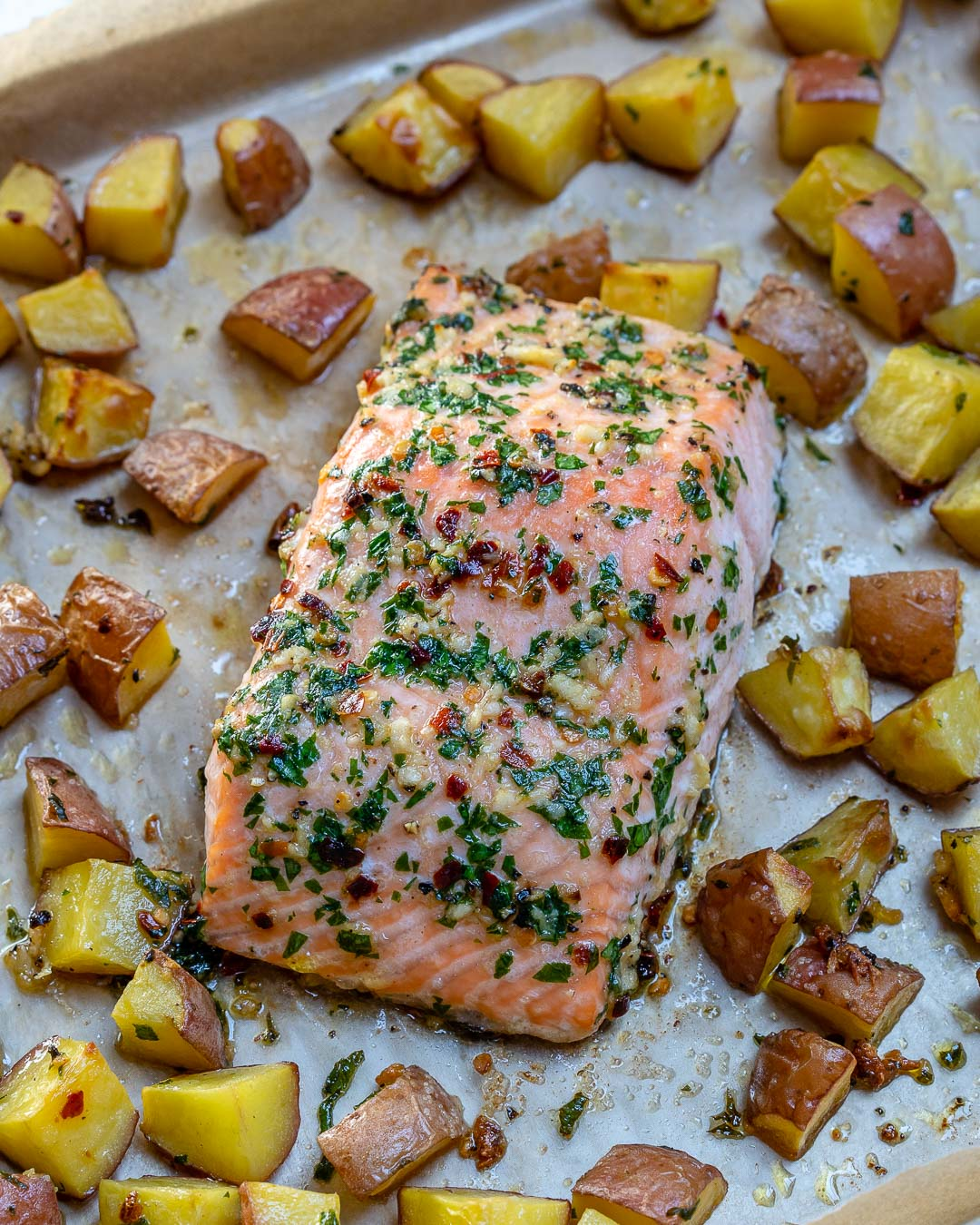 Garlic Butter Salmon Meal Prep