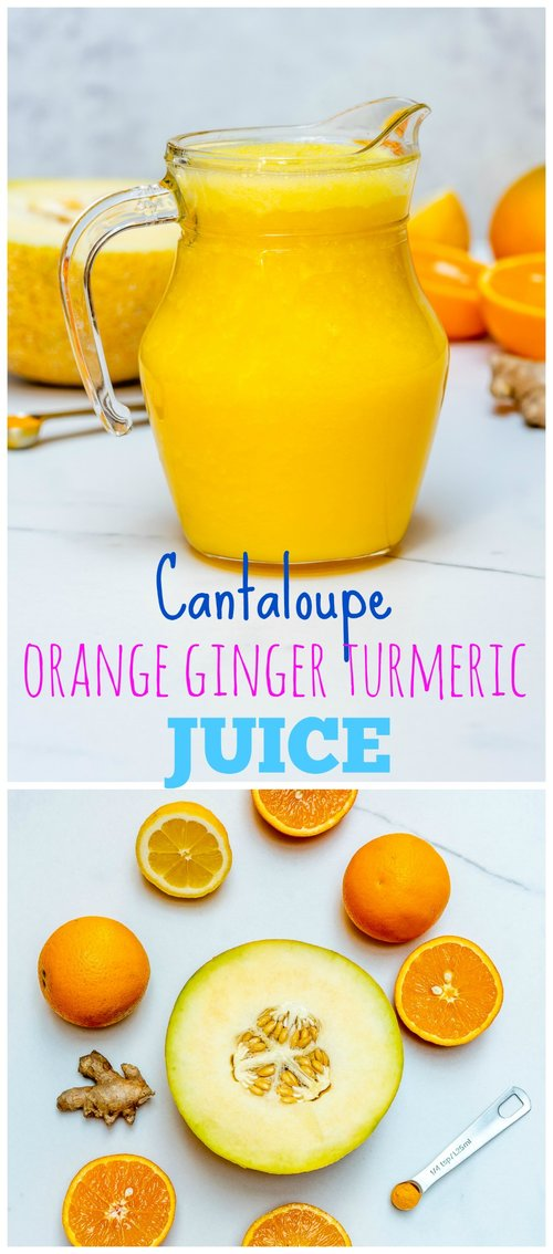 CleanFoodCrush Orange Ginger Turmeric Juice