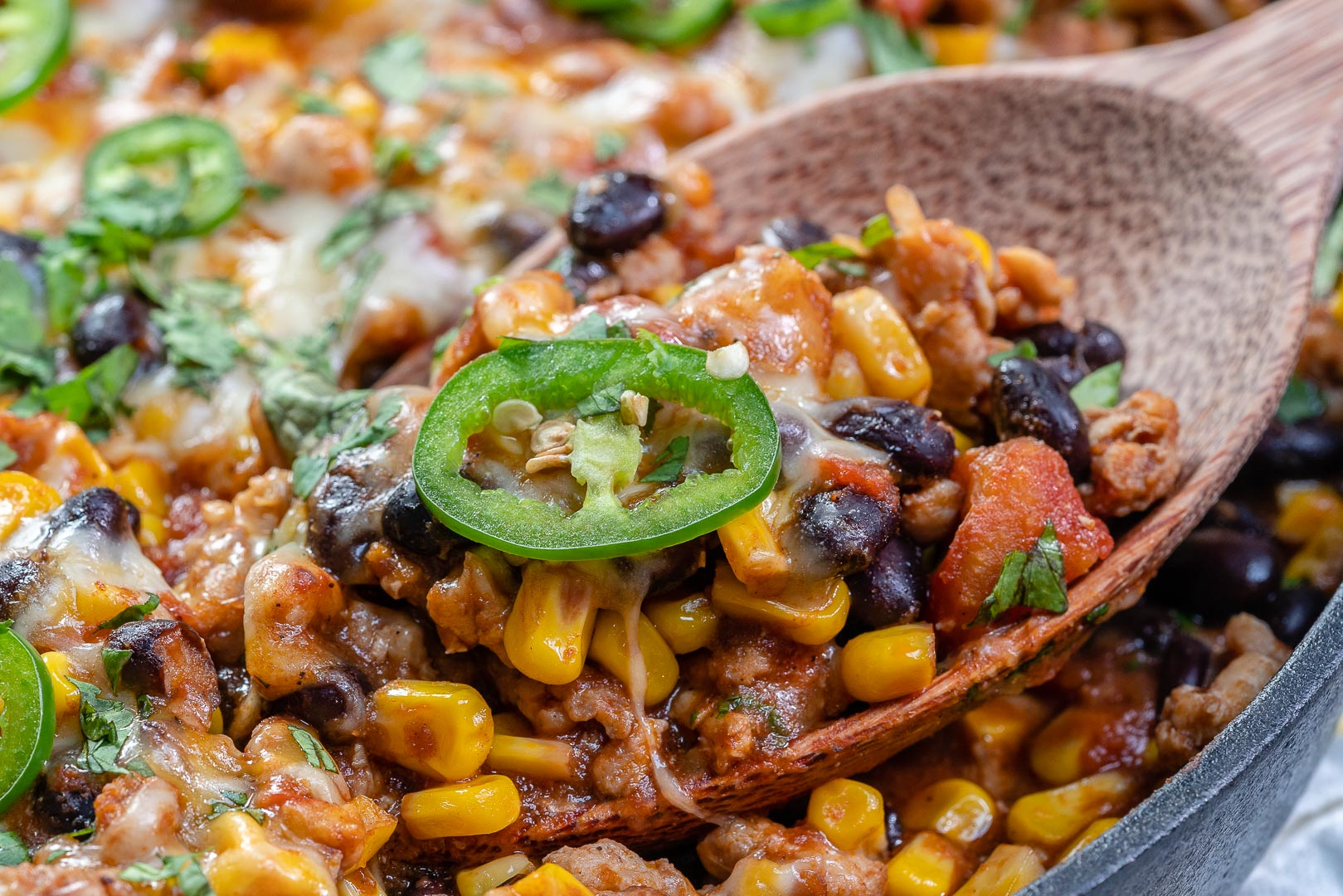 Clean Eats Mexican Style Casserole
