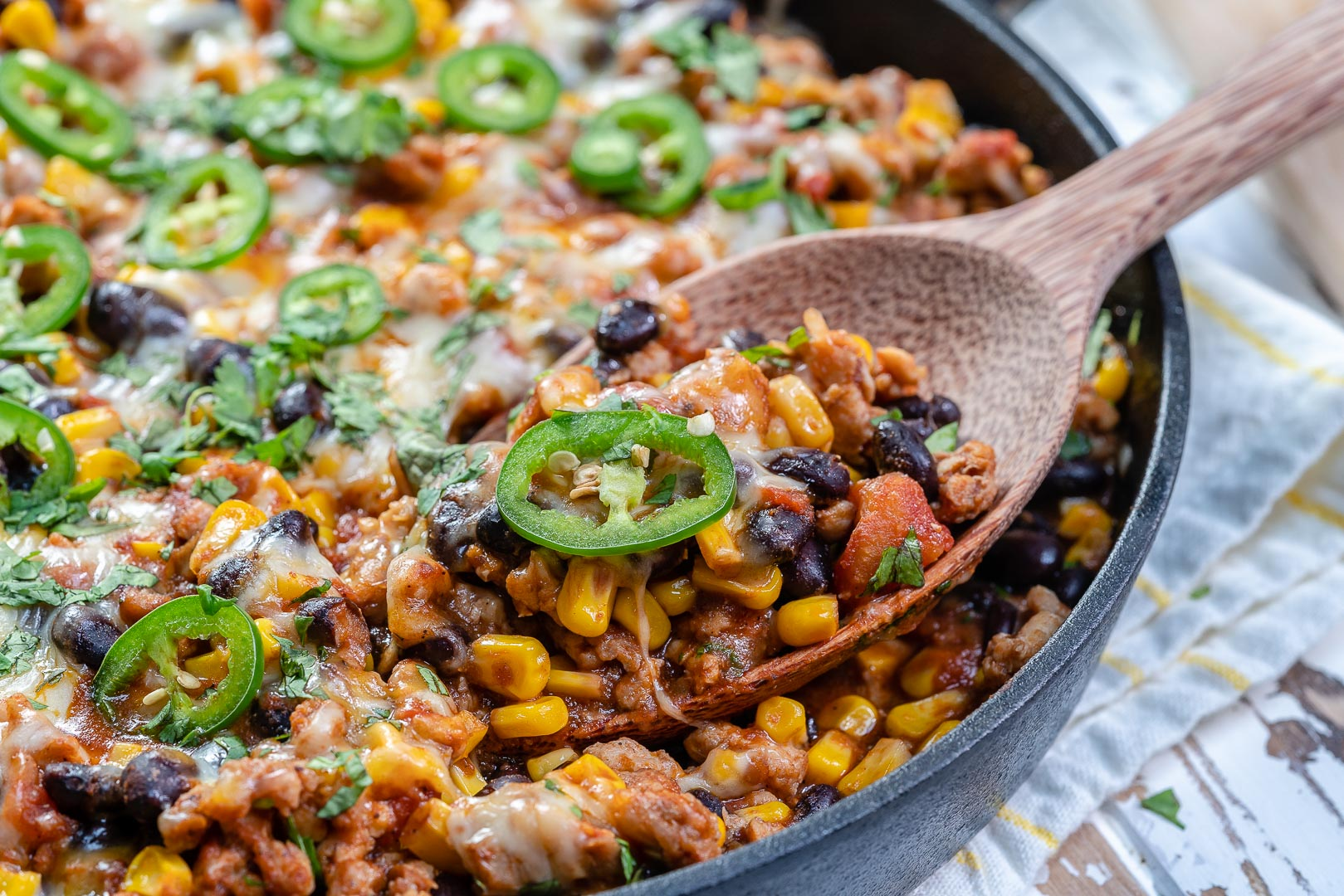 Clean Mexican Style Casserole Recipe