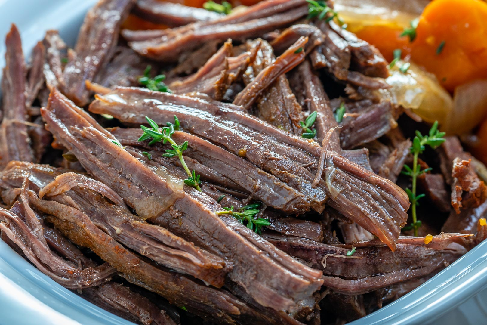 Clean Slow Cooker Roast Beef