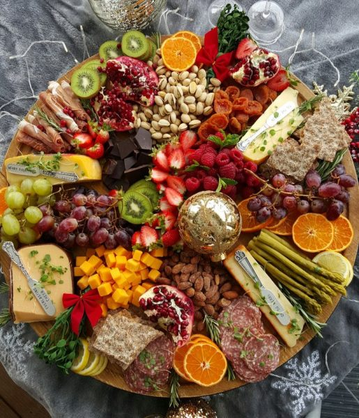 Get Your Party Season Started With A Holiday Grazing Board Clean