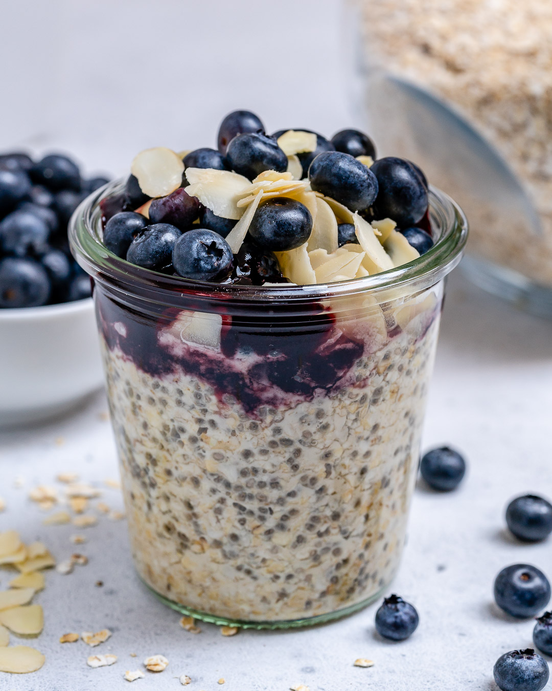 Eat Clean Blueberry Pie Oats