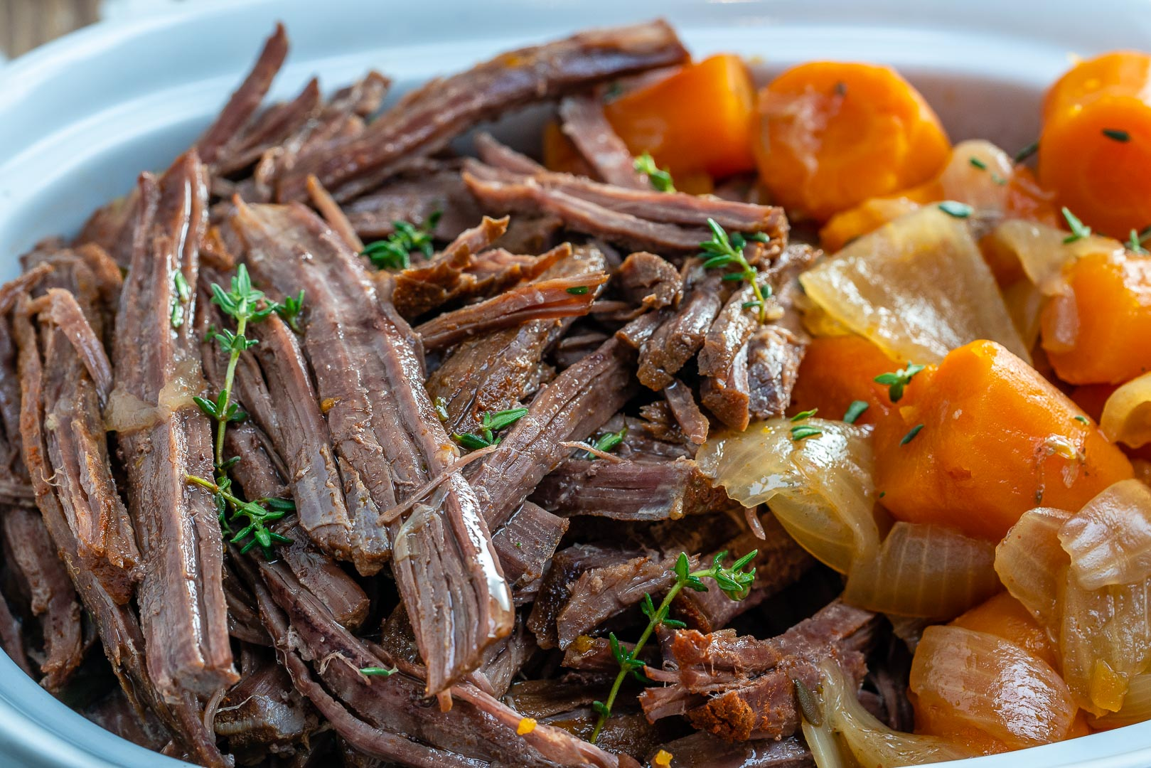 Slow Cooker 'Roast' Beef