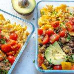 Eat Clean taco scramble bowls