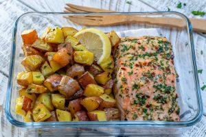 Garlic Butter Salmon by CleanFoodCrush