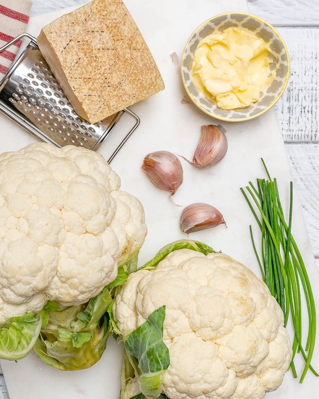 Clean Garlicy-Parm Mashed Recipe
