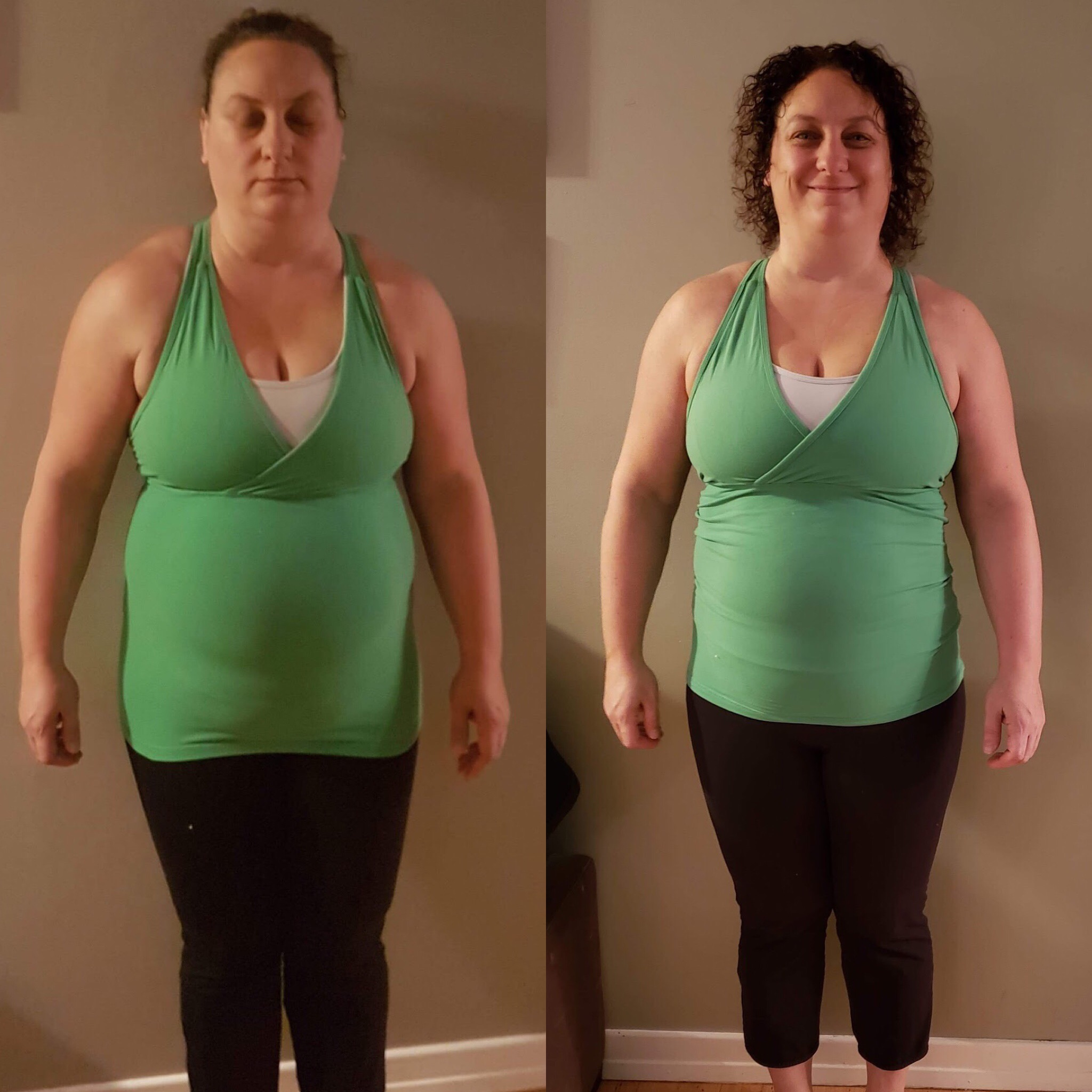 Lorrie Before and After CleanFoodCrush