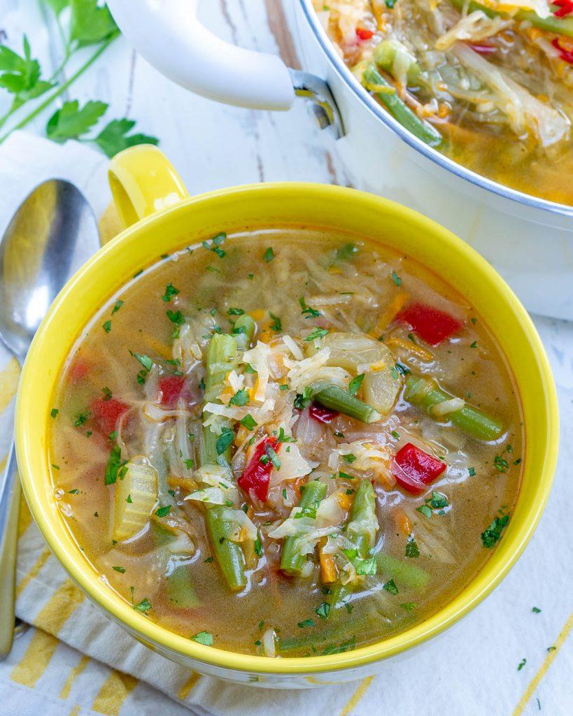 Recipe Quick & Simple Skinny Detox Soup
