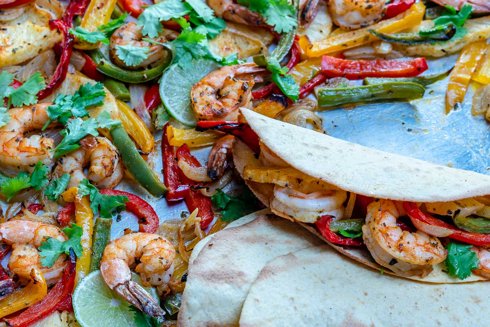 Pineapple Shrimp Fajitas Clean Food Recipe