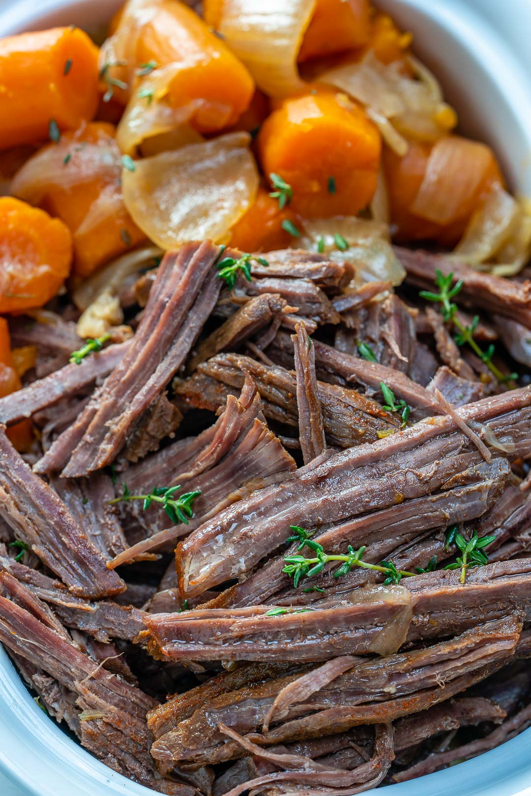 Clean Eating Slow Cooker Roast Beef