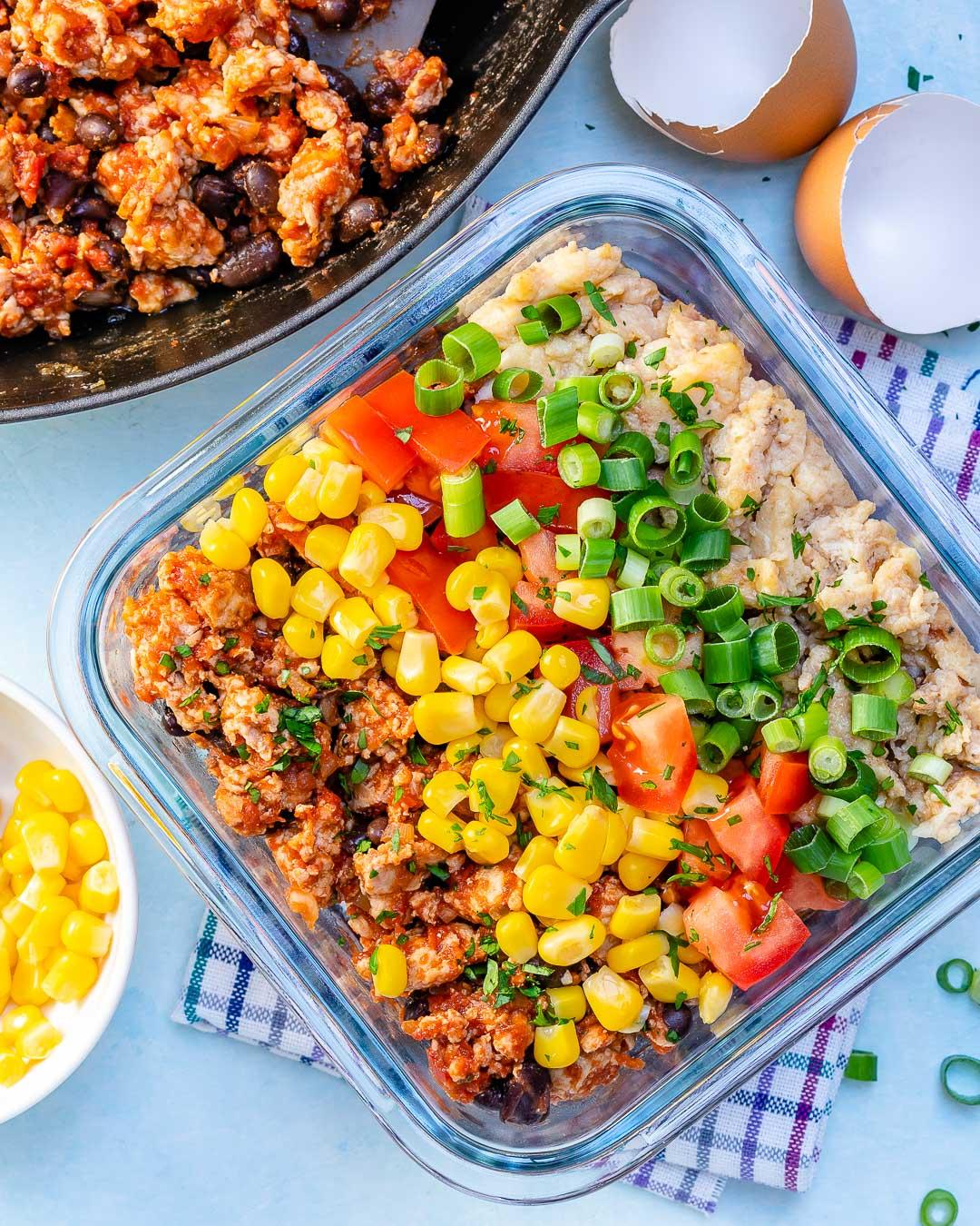 Taco Scramble Bowls Meal Prep