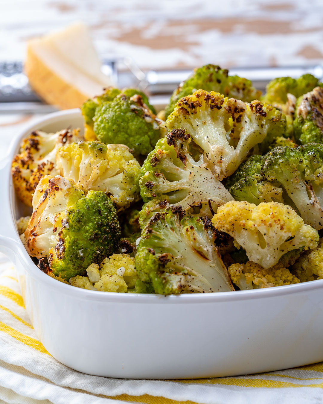 Parmesan Roasted Broccoli For The Perfect Clean Side Dish Clean Food Crush