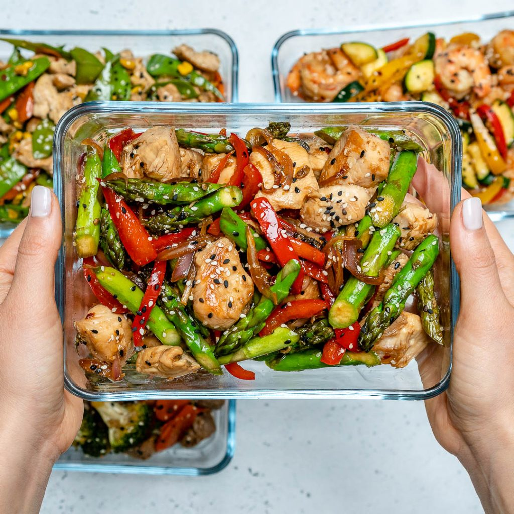 Super-Easy Turkey Stir-Fry for Clean Eating Meal Prep!