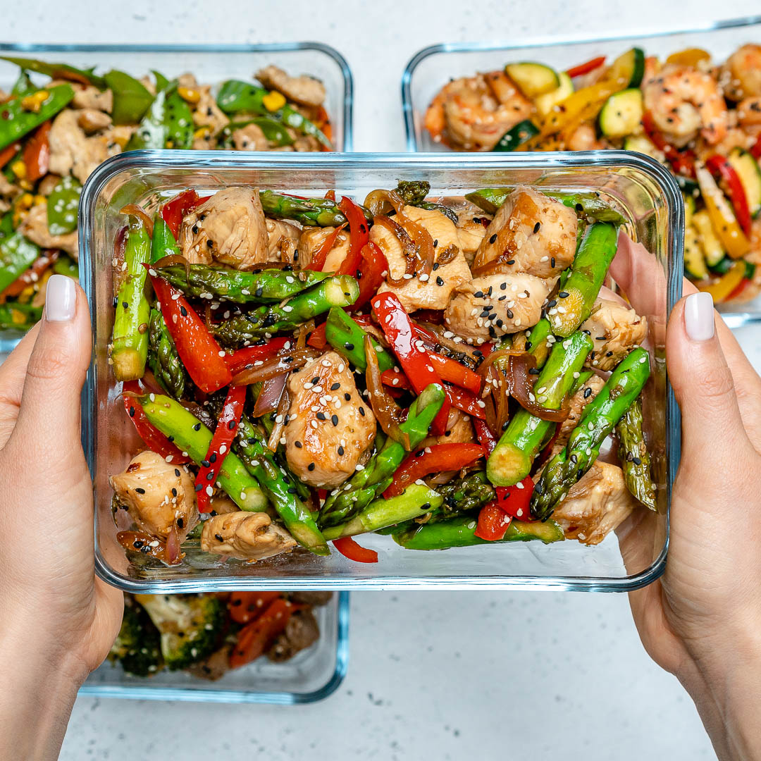Super Easy Turkey Stir Fry For Clean Eating Meal Prep Clean